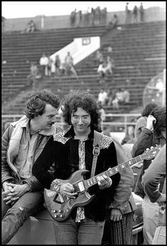 Jerry Garcia and Bill Kreutzmann