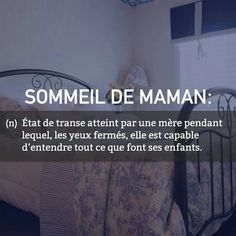 Maman sommeil