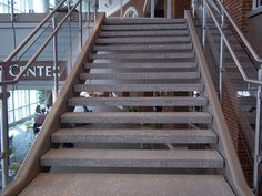 Concrete Stairecases Concrete Open Riser Stair Treads