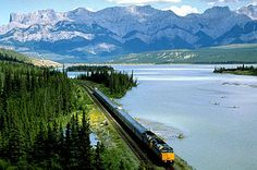 Via Rail Canada offers a variety of different routes travelers can choose from when traveling Canada by train. From the legendary Canadian route, Toronto to Vancouver, to the breathtaking coastal journey from Jasper to Prince Rupert: www.viarail.ca/en