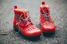 "Alegria Shoes Kylie ""Candy Apple"" Ankle Boot from Alegria Shoe Shop"