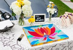21 Guest Books That Make Great Keepsakes | Photo by: Photo: Cory Ryan Photography | TheKnot.com