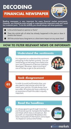 This pin tells us how to filter relevant news or information while reading newspaper.