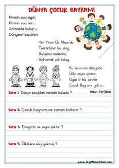 Many people believe that there is a magical formula for home decoration. You do things… Turkish Lessons, Learn Turkish, Turkish Language, Classroom Rules, Reading Passages, Child Day, Baby Knitting Patterns, Learn English, Olay
