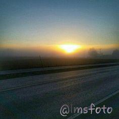 On my way to work at Ulefoss, Telemark