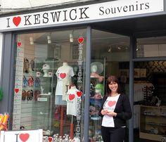 I Love Keswick new shop opens  : Cumbria Crack: News for Penrith, Appleby, Eden Valley, Keswick, Workington, Whitehaven, Maryport, Barrow, Kendal, Carlisle, Lake District & Cumbria