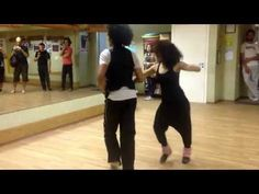 Clase de salsa nivel 2 (sencillo pero con sentimiento) Yoanis y Zaine - YouTube