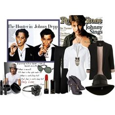 """""""My style Of Johnny"""" by kitty1255 on Polyvore"""