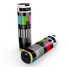 MC2 TV   Accesorio: Bateria Externa Capacidad: 2.600 mAh Material: Plastico Color: Blanco Compatibilidad: Dispositivos Micro-USB 5V/1A Recarga: USB 5V/1A 3,5h