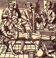Iba Mendes: Tipos e instrumentos de tortura na Inquisição