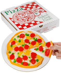 A Gummy Pizza in a Box That Looks Like the Real Thing