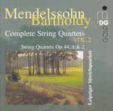 Mendelssohn-Bartholdy: Complete String Quartets, Vol. 2 [CD], 09398771