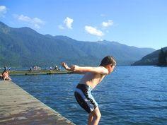Cultus Lake, BC  A great family vacation