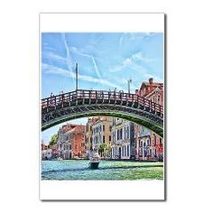 Motor Boat In Venice Italy Postcards Package of 8> Daphsam's Photography and Art $7.19 #postacards #venice #italy #cafepress