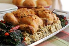 Roasted Cornish Game Hens with Bacon-Herb Butter Recipe on Yummly! I love, love, love Cornish Game Hens! So much better than full sized chickens! Cornish Hen Recipe, Cornish Game Hen, Cornish Hens, Bacon Wrapped Smokies, Tasty Kitchen, Herb Butter, Smoked Bacon, Great Recipes, Favorite Recipes