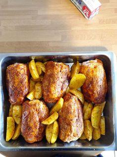 Dear Santa, Tandoori Chicken, Chicken Wings, Toast, Cooking, Breakfast, Ethnic Recipes, Food, Kitchen