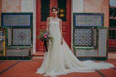 Editorial 'Slow Wedding' – Vestido de novia de Santos Costura – Cristina & Co. wedding planner #ideasparabodas #weddingideas #vestidodenovia #weddingdress