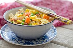 Simple fried rice...