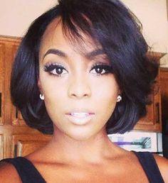 Twenty Quick Bob Hairstyles For Black Females | Hairstyles Pinterest: @Mare-Bear