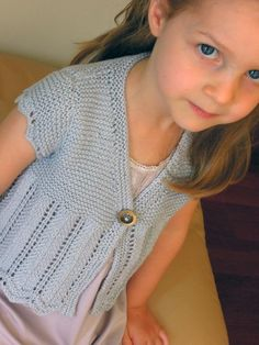 Girls bolero, shrug ... by OGE Designs | Knitting Pattern