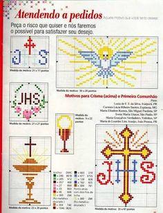 patrones de punto de cruz motivos religiosos - Buscar con Google
