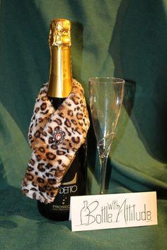 Decorate your wine bottles!!! $11  https://www.etsy.com/listing/173779019/wine-bottle-fur-stole-decoration?ref=shop_home_active