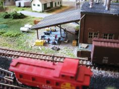 """N Scale Model Train Layout """"Lines East"""" 