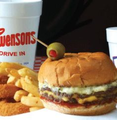 No matter where you roam, if you've lived in Akron, you've tried Swenson's Drive In. Voted #1 restaurant out of 233 in Akron. The Galley Boy, fried mushrooms or onion rings, and a hot fudge milkshake! M-m-m-m-m.