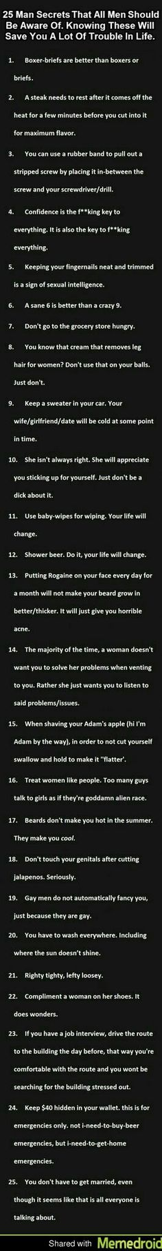 Guy tips