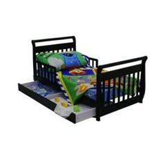 Dream On Me Toddler Bed with Storage Drawer