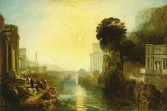 Turner__Didon_construisant_Carthage, 1815 Huile sur toile 155 x 230 Londres, National Gallery