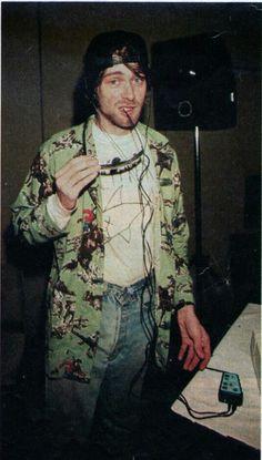 Kurt Cobain in Rio de Janeiro, Brazil. January 20, 1993