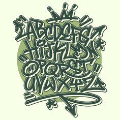 Graffiti Lettering Alphabet, Doodle Lettering, Graffiti Art, Creative Poster Design, Creative Lettering, Creative Posters, Name Drawings, Cool Art Drawings, Hip Hop Tattoo