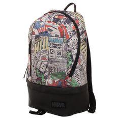 Marvel Avengers Adult Backpack - Multi-Color