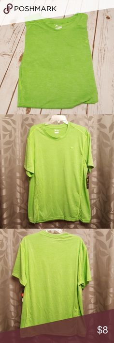 Old Navy Mens Active Top New without tags Neon green Old Navy Shirts Tees - Short Sleeve