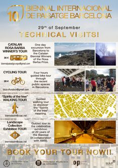 TECHNICAL VISITS FLAYER!!!!   #joinus #bookyourtour