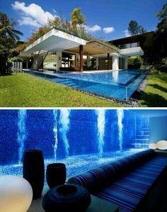 Adoro questa piscina... I want you!