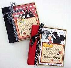 Disney Scrapbook Album Custom Order 20 pages by ArtsyAlbums