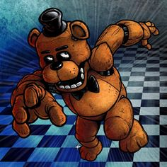 Five Nights at Freddy's video games animals stuffed Fazbear EX011 Living room home wall modern art decoration frame poster
