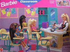 Barbie Classroom Playset (1996 Arcotoys, Mattel) by Arcotoys, Mattel. $95.20