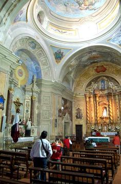 Alta Gracia: interior de la iglesia jesuita