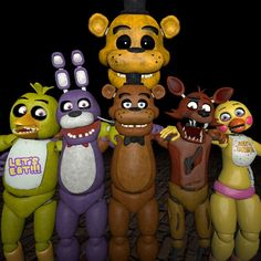 This is a good five nights at freddy's poster here I have to say the person who did this did a really good job.