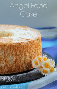 Angel Food Cake y punto final. Angel Food Cake, Cornbread, Cake Recipes, Baking, Ethnic Recipes, Donut Holes, Fairy Cakes, Crack Cake, Deserts