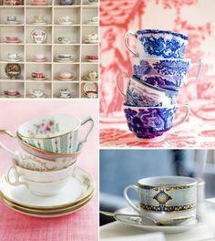 I love teacups. Good thing I also enjoy tea.