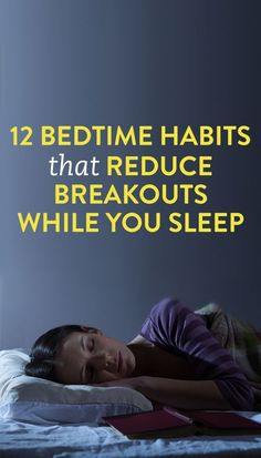 good habits for your skin while you sleep