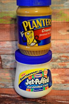Planters Peanut Butter and Kraft Jet-Puffed Marshmallow Creme