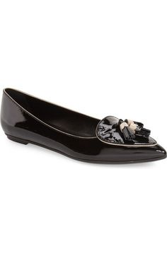 0053a51994a Tod s Fringe Pointy Toe Flat (Women) available