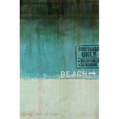 beach 1 by leftbank art...oh I miss the ocean..
