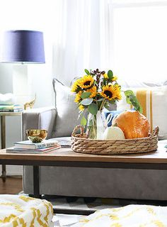 Unique and beautiful ideas for decorating with pumpkins.
