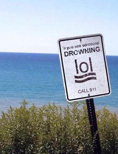 I know the figure is supposed to be drowning, but it looks like lol. So if you see someone drowning, laugh out loud then call 911 Wtf Funny, Funny Fails, Crazy Funny, Super Funny, Epic Fail Photos, Job Fails, Funny Quotes, Funny Memes, Funniest Memes